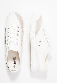 Kawasaki - GRAFFITI SHOE - Matalavartiset tennarit - white - 3