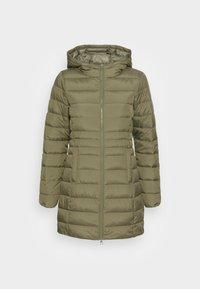 TOM TAILOR DENIM - LIGHT WEIGHT PUFFER COAT - Winter coat - deep olive green - 3