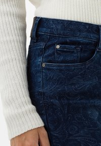 BRAX - STYLE MARY - Slim fit jeans - laser paisley blue - 3