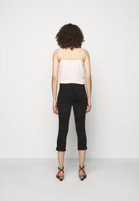 Frame Denim - LE HIGH PEDAL PUSHER - Jeans Skinny - film noir - 2