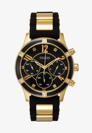 LADIES SPORT - Montre - black/gold-coloured