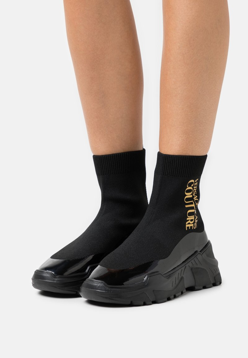 Versace Jeans Couture - High-top trainers - nero