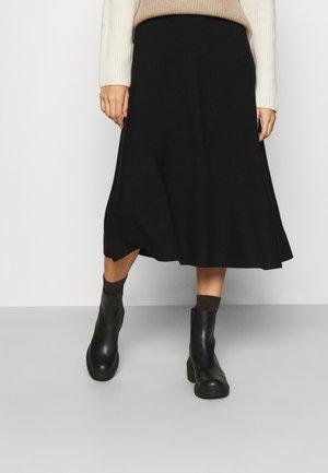 MEDA - A-line skirt - schwarz