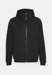 TOM TAILOR DENIM - EASY ANORAK - Summer jacket - black - 0
