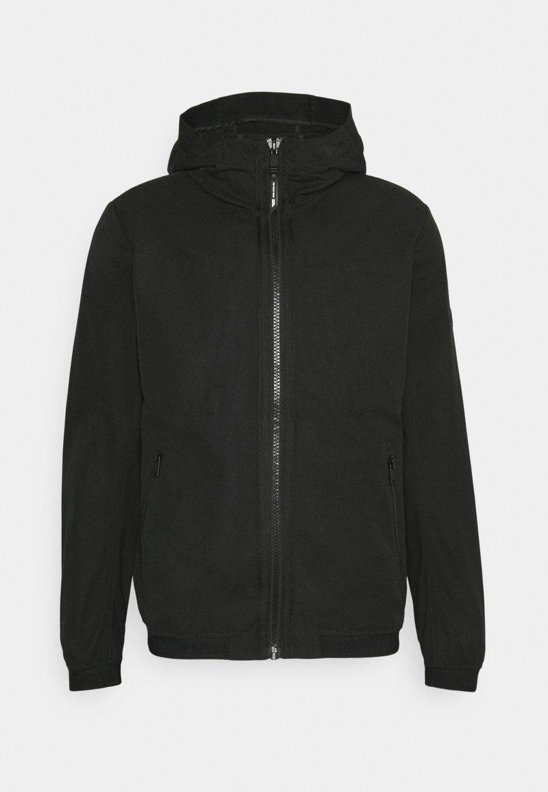 TOM TAILOR DENIM - EASY ANORAK - Summer jacket - black