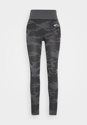 SEAMLESS LEGGINGS RESERVE - Leggings - black