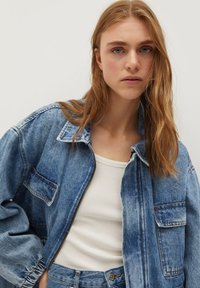 Mango - COLETTE - Denim jacket - medium blue - 4