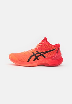 SKY ELITE FF MT - Volleyballsko - sunrise red/eclipse black