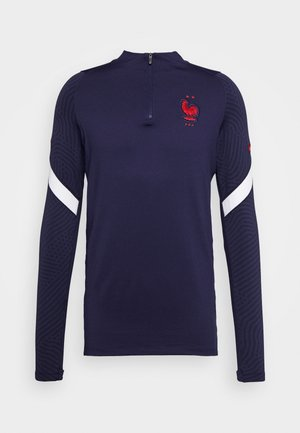 FRANKREICH FFF DRY - Landslagströjor - blackened blue/white/university red