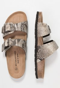 RE:DESIGNED - PALLAVI - Domácí obuv - beige - 3