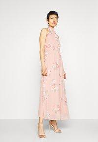 Vero Moda - VMLOVELY HALTERNECK LONG DRESS - Maxi dress - misty rose - 1