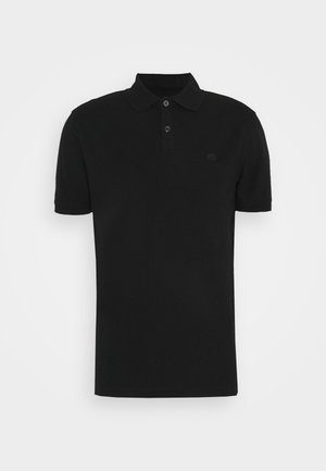 ORGANIC BRANDED - Polo - black
