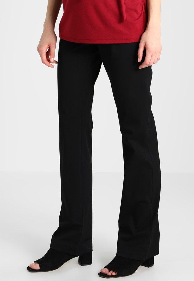 KELLY - Spodnie materiałowe - black