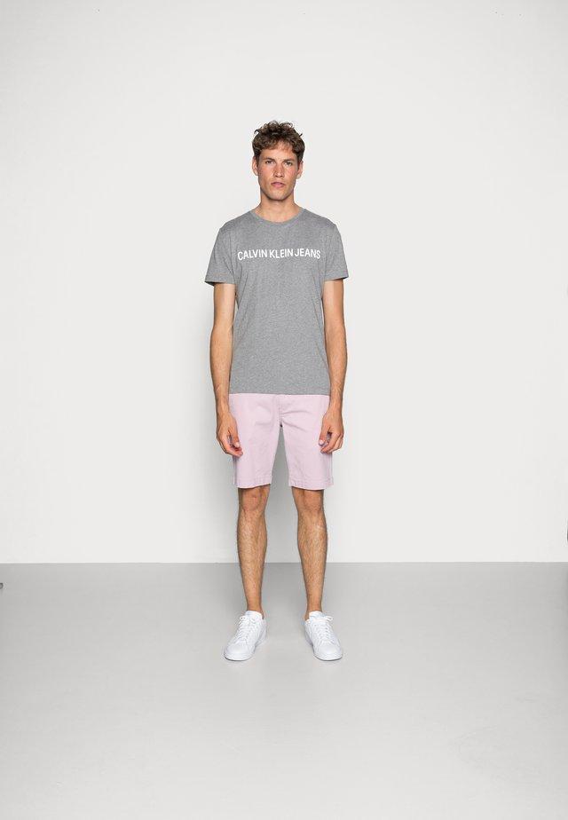 CORE INSTITUTIONAL LOGO TEE - T-shirt print - grey heather