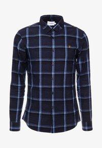 STEEN CHECK - Overhemd - true navy