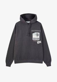 PULL&BEAR - Hoodie - dark grey - 6