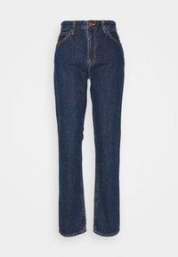 Nudie Jeans - BREEZY BRITT - Relaxed fit jeans - dark stellar - 0