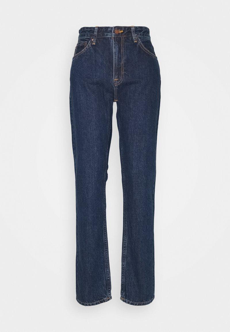 Nudie Jeans - BREEZY BRITT - Relaxed fit jeans - dark stellar