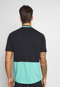 Vaude - TAMARO - T-shirt z nadrukiem - lake - 2