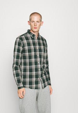 STEEN CHECK - Shirt - emerald green