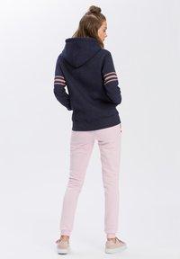 Cross Jeans - Zip-up hoodie - navy-meliert - 2