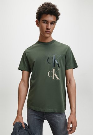 FASHION TEE - T-shirt con stampa - deep depths