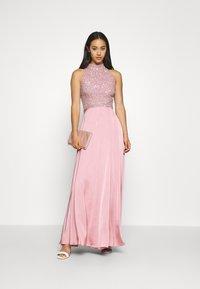 Lace & Beads - LIZA MAXI - Occasion wear - pink - 1