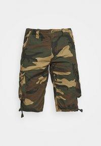 Alpha Industries - JET CAMO - Shorts - woodland - 4