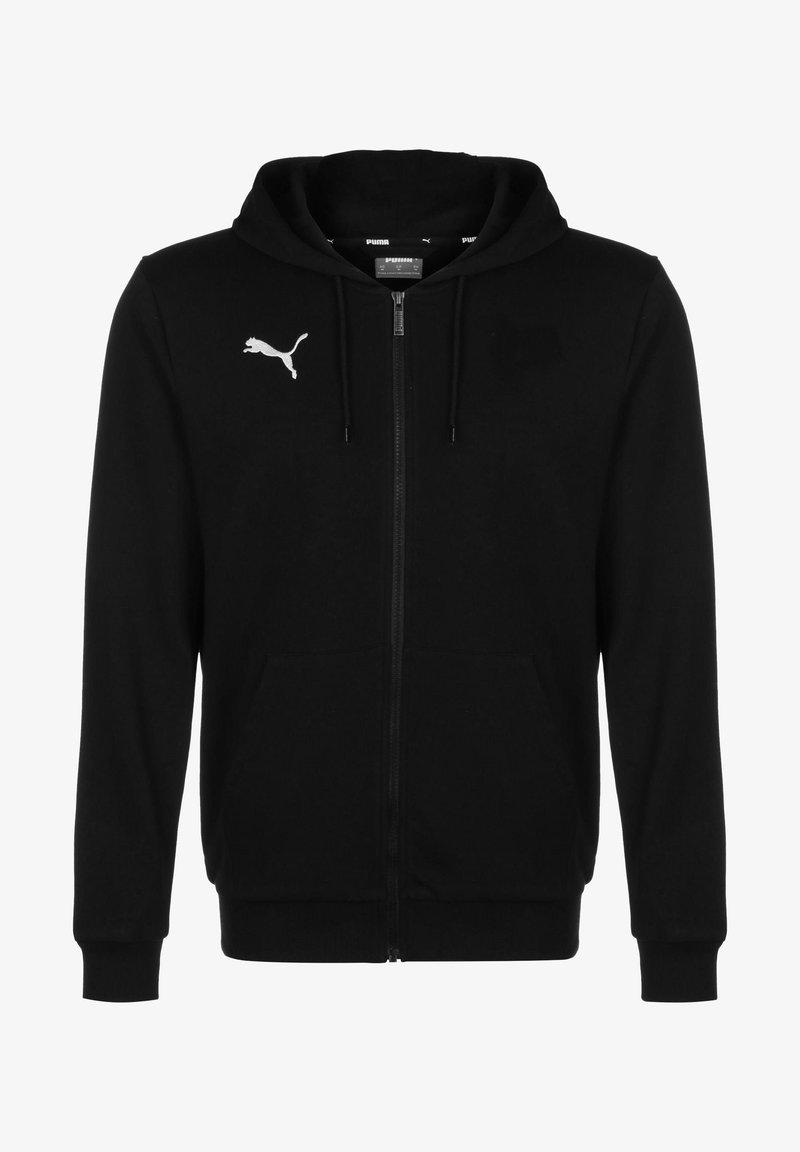 Puma - TEAMGOAL 23 CASUALS TRAININGSJACKE HERREN - Zip-up hoodie - black