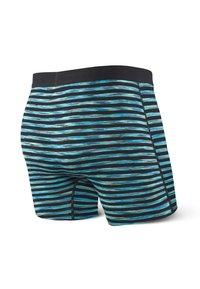 SAXX Underwear - VIBE TRUNK - Pants - Black Space Hiker Stripe - 3
