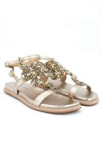 Alma en Pena - SIENA - Ankle cuff sandals - gold - 2
