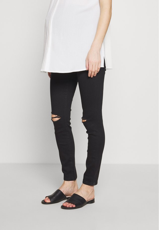 OVERBUMP ALEX - Jeans Skinny Fit - black