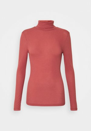 PCPIPPI LS ROLLNECK - T-shirt à manches longues - apple butter