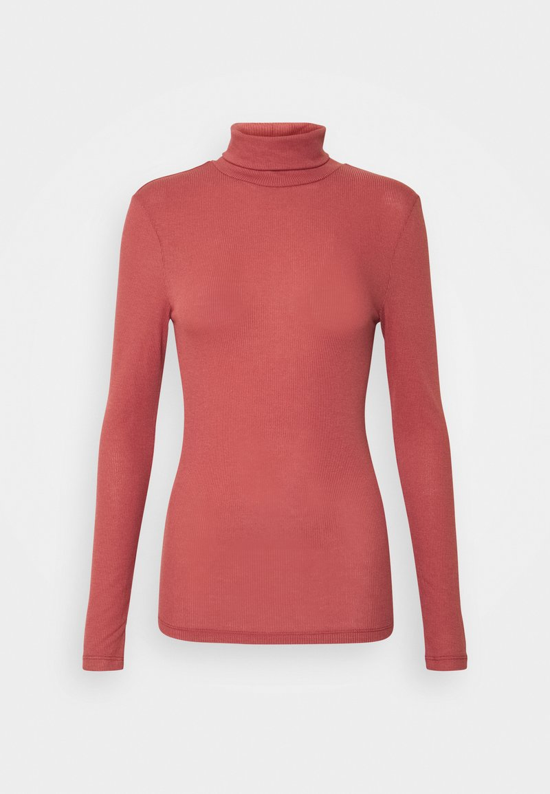 Pieces - PCPIPPI LS ROLLNECK - Long sleeved top - apple butter
