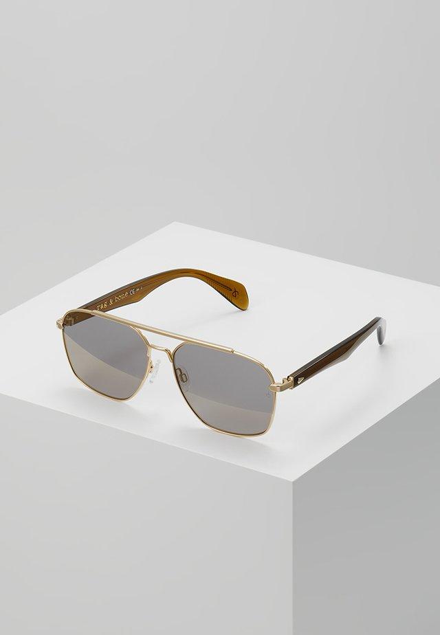 Sunglasses - gold brwn