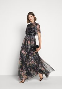 Needle & Thread - FLORAL DIAMOND BODICE MAXI DRESS - Occasion wear - graphite - 1