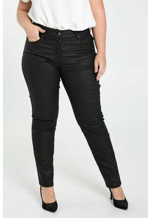 SLIM ENDUIT - Jeans Skinny Fit - black