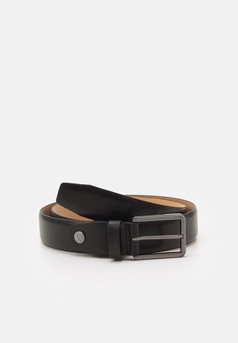 Calvin Klein - TWO FINISH BUCKLE - Belt - black