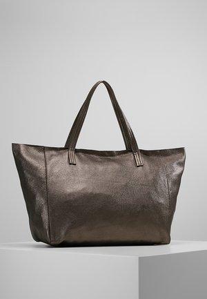 VIOLET HORIZONTAL TOTE - Shopping bag - gunmetal