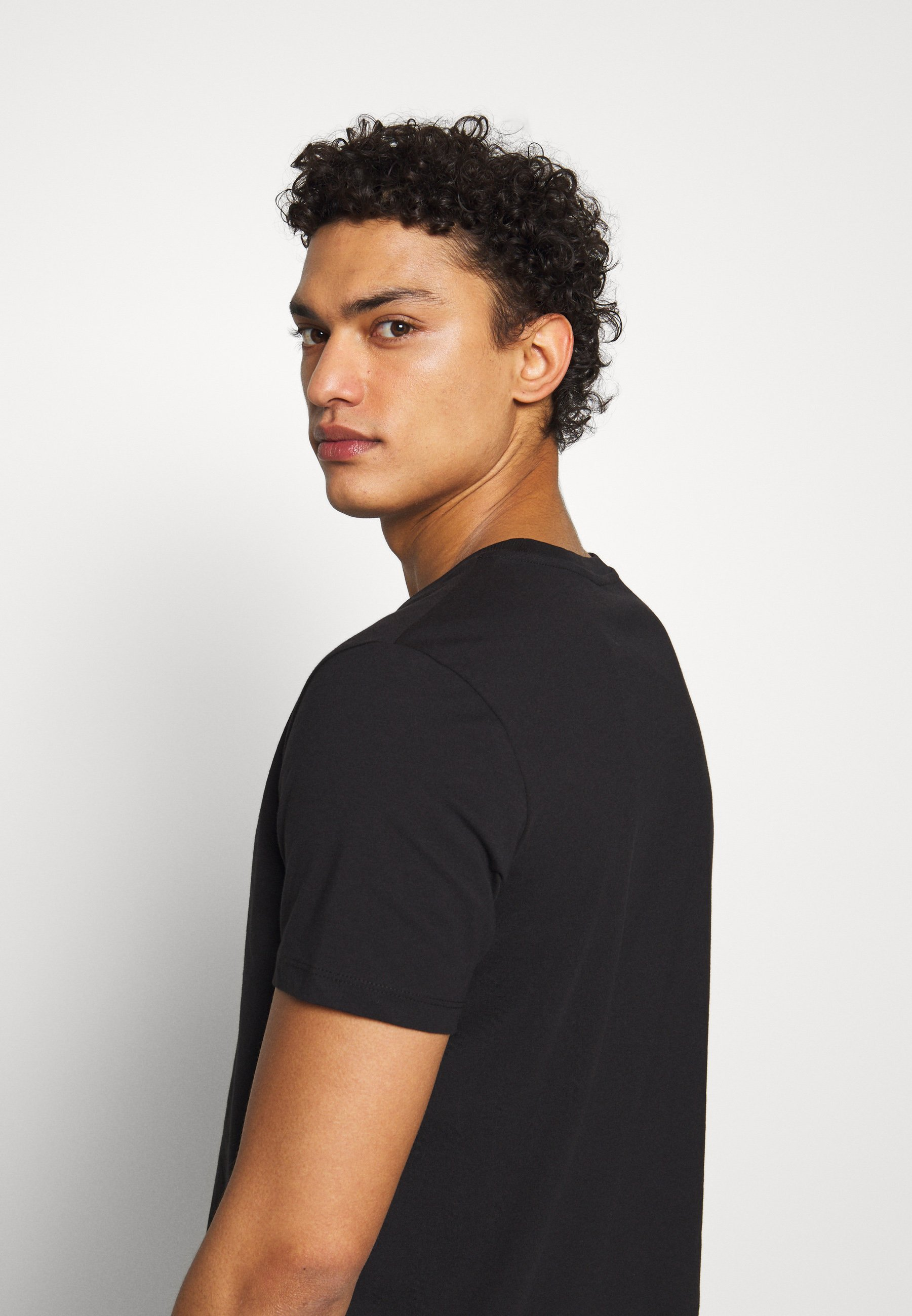 JOOP! Jeans ALPHIS  - Basic T-shirt - black qZofO