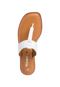 Tamaris - T-bar sandals - white - 3