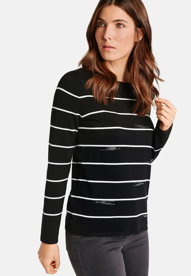 1/1 ARM - Pullover - black/ecru/white