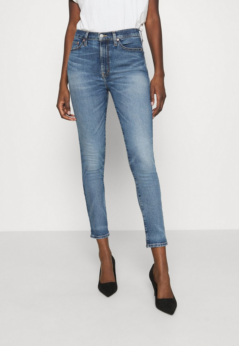 Ética - GISELLE ANKLE - Jeans Skinny Fit - emerald pools