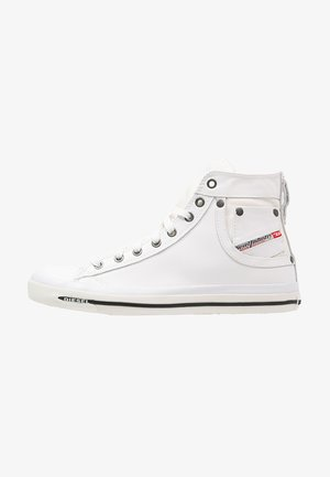 EXPOSURE I - High-top trainers - white