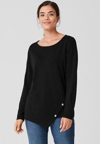 Triangle - Long sleeved top - black - 0