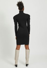 Vila - Jumper dress - black - 2