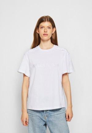 UPPER BODY GARMENT - Print T-shirt - white