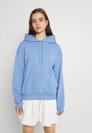 Hoodie - blue medium