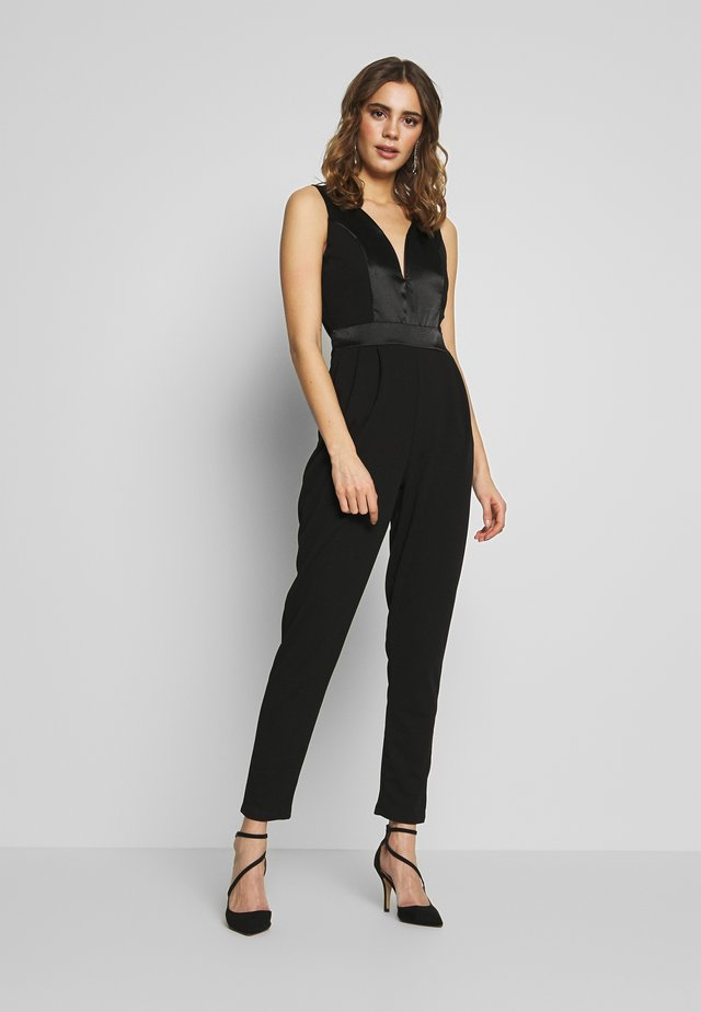 BAND - Overall / Jumpsuit /Buksedragter - black