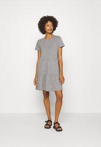 GAP - TIERD - Jersey dress - heather grey - 1
